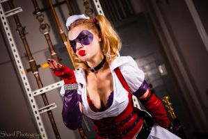 Arkham Harley Quinn- Happy Valentines day Puddin! by jobiberry