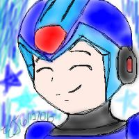 X smiling with stars by X-Club