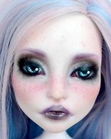 Fully Customized Monster High doll - Spectra V. by Katalin89