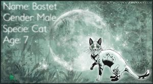Ref Sheet: Bastet by Snow-Body