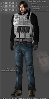 Leon S Kennedy Damnation Model ( OUTDATED ) by WeskerFan1236