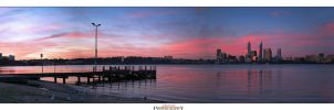Sunset Perth by Furiousxr