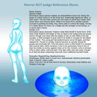 Horror OCT Judge Reference Sheet. by SovietLit