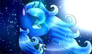 Princess Luna ~Beauty of the night by CrystalHedgieCat