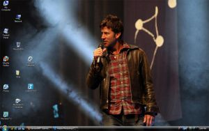 Joe Flanigan con desktop by corrupt-prodigy