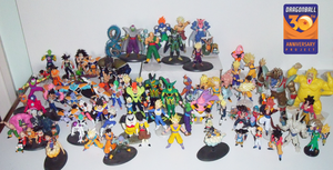 PGV's DB/Z/GT Gashapon collection by pgv