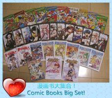 Comic Books Big Set by qfzpjm159