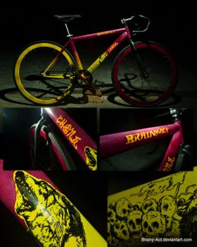 Howl of Death (Bike Custom Paint) by Brainy-Act