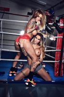 Boxing Babes by StudioMC