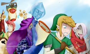 Skyward Sword by Jenova5000