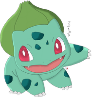 Pokedex Challenge 001 Bulbasaur by Blue-Diamond-Shadow