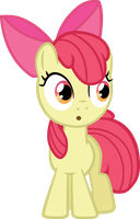 Apple Bloom credit free vector by poniesfromheaven