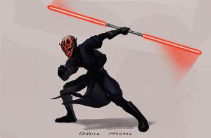 Darth Maul by Indofrece