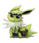 Jolteon Thunders by Pikarty10