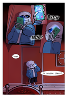 But nobody Picked up. by Skeleion