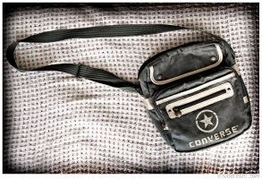 A Converse bag by Irreality