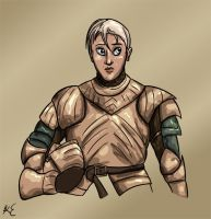 Daily - 19 Brienne of Tarth by LeechLights