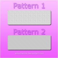2 Photoshop Pattern by amuchan06