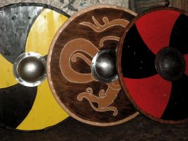 Viking Shields by Glapsvidur