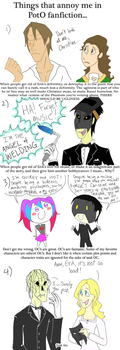 Fanfiction Peeves by ThisFakeUsername