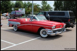 1958 Buick Century Convertible by compaan-art