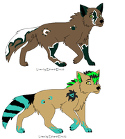 wolf adoptables OPEN by petshop101