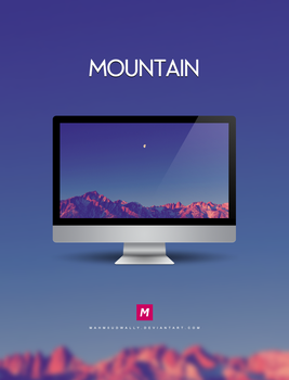 Mountain by Mahm0udWally