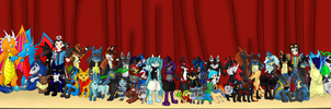 All my close/really good friends on DA by Lukurio