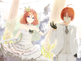 Maki's Wedding Ceremony by Hews-HacK