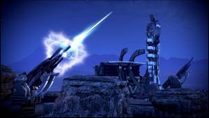 Mass Effect 3 Rannoch Firing Guns Dreamscene by droot1986