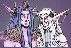 An Old Druidic Partnership Redraw by Silverr-x