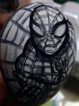 Spider-man Easter egg detail by Rene-L