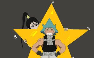 Soul Eater: Star Support by swan-swan