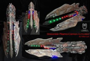Draconian Plasma Cannon Activated 02 by Uratz-Studios