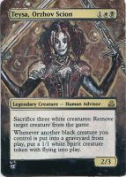 Magic Card Alteration: Teysa, Orhzov Scion by Ondal-the-Fool