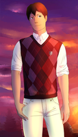 Sweatervest Bertholdt by Clashe