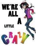 T-Shirt Design - Crazy by MoonMistFalls