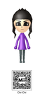 Chi-Chi Mii QR Code by Knuxamyloverfan