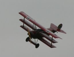 red barron fokker DR1 by Sceptre63