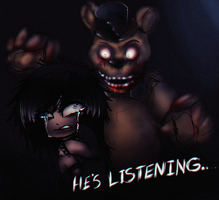 FNAF: He's Listening.. by miss-mixi