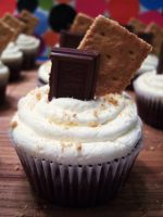 S'mores Cupcakes II by dashedandshattered