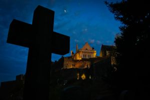 Stirling Castle Graveyard by BusterBrownBB
