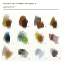 PS style brushes for ArtRage by GBWhisper