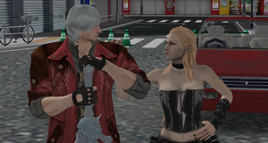 Dante and Trish by Lena-Kitten