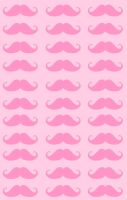Pink Mustaches Custom Box BG by kwinzilla