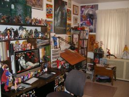 A Virtual Tour of my Studio 1 by kevinbolk