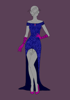 Sparkling Evening Gown: Offer to Adopt (CLOSED) by terra-adopts