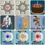 Portal icons by Alice-chan