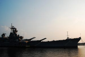 USS New Jersey BB 62 by Bass4819