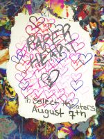 paper heart contest entry by LaurieLefebvre